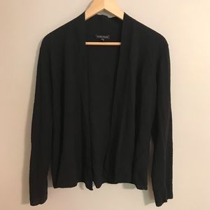 EUC Black Eileen Fisher Cardigan